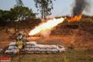 国产军用火焰喷射器