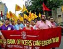 印度百万银行职员大罢工 多数国立银行关门歇业