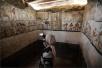 埃及发现女祭司墓 4400年后内部壁画仍栩栩如生