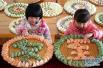 除夕夜回到那个小山村 吃一碗热气腾腾的饺子
