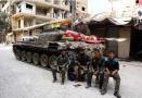 叙利亚民众在炮火中迁徙 撤离东古塔