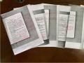 暖心!義烏90後女教師産假前手寫9頁紙交接工作注意事項