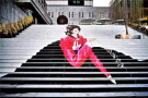 楼梯是要逆天吗?
