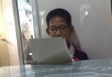 十位数乘除等高难度数学题 松阳一9岁男孩竟能秒算?