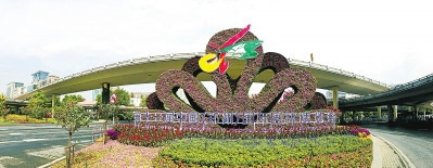 郑州的园林绿化景观升级!花团锦簇喜迎盛会|公司新闻-张家口国特环保工程有限公司