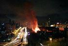 广州沙面岛突发火灾