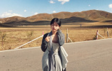 校花晒旅游写真 每一张都是大片的感觉
