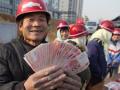 五年来,河北农民工收入人均增长49.1%