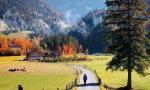 瑞士的秋天如童话世界