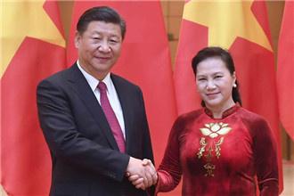 习近平会见越南国会主席