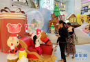 香港圣诞气氛渐浓 各大商场装饰一新