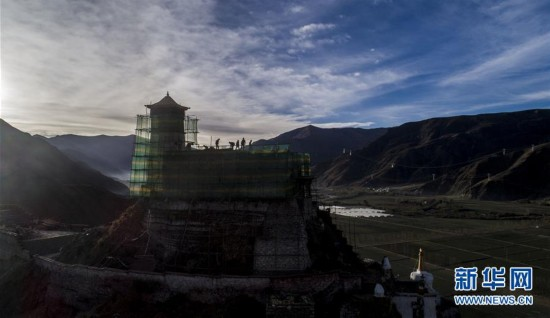 """""""西藏第一宫""""大修"""
