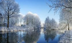 低温天气带来降雪 多地雪景美如画