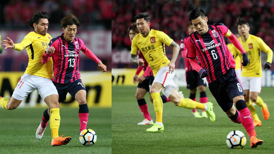 亚冠-广州恒大客场0-0大阪樱花 难见首胜