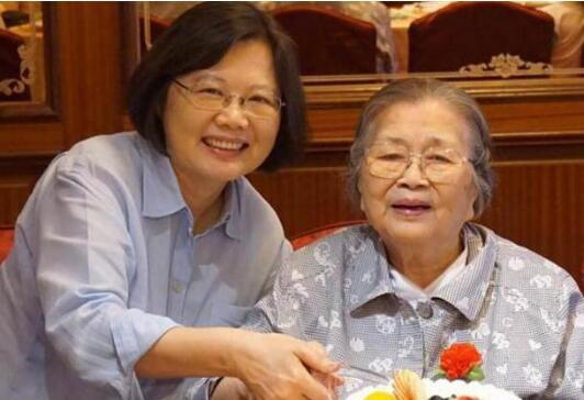 精准pk10聊天室计划:蔡英文93岁母亲张金凤今日在家中去世 父亲有两妻子和平相处