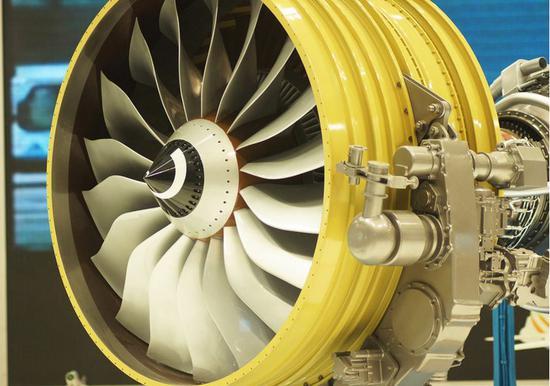 我国研制的国产长江-1000A大涵道比涡扇航空发动机