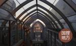 """日照""""黄海之眼""""开建 为国内唯一全钢架玻璃拱桥"""