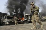 阿富汗军队空袭打死打伤38名塔利班武装分子