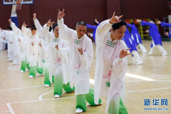 全国健身气功站点联赛河南省赛区预赛在宝丰举行
