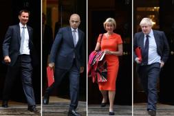"""""""梅姨""""黯然离场 下一任英国首相花落谁家?"""