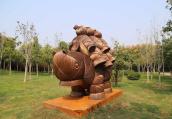 郑州雕塑公园再添新作品雕塑增至95件 快来打卡了!