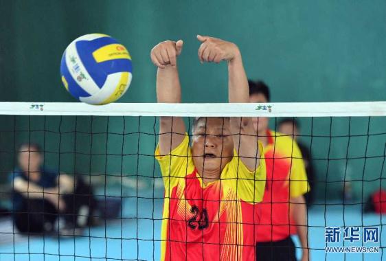 河南省气排球联赛总决赛开赛