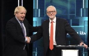 唇枪舌剑互不相让 英大选首场电视辩论打成平局