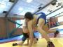 杭州女子摔跤队:训练强度家长看了受不了,一天可减一公斤