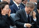 高调祭奠挚友悲痛落泪 有一种友情叫文在寅卢武铉!