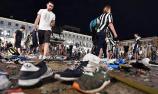 欧冠决赛现场发生骚乱