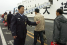 """大连港开启""""达沃斯安保模式"""" 安检升级请旅客提前到港"""
