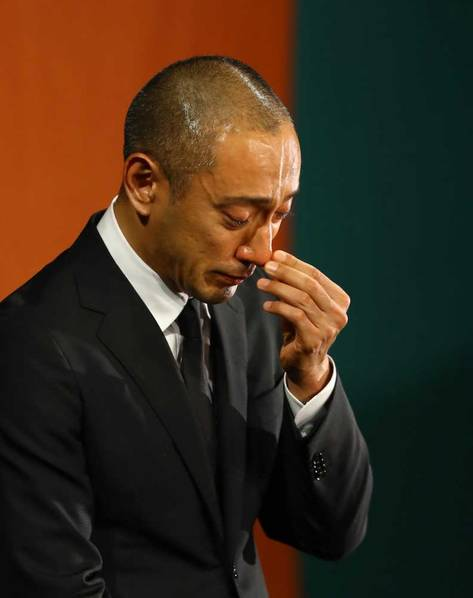 这时他人生中哭得最痛的一天
