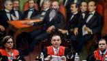 委内瑞拉最高法院召开发布会 就遭袭事件发表声明
