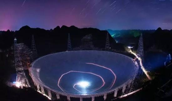 关键指标上 超越国外同类望远镜,实现了大科学工程,由 跟踪模仿到