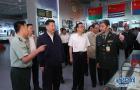 习近平等七常委参观建军90周年主题展