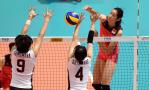 女排大奖赛-中国3-1日本 朱婷31分率队开门红