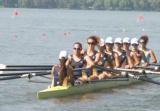 西湖水域首场国际名校赛艇挑战赛 鲜肉学霸鏖战西湖