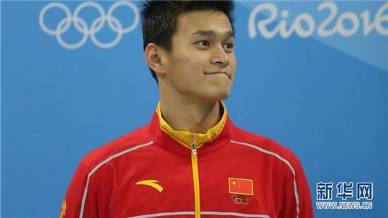 """孙杨400米自由泳轻松晋级称决赛""""尽力就好"""""""