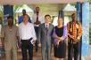 驻几内亚比绍大使金红军走访阿米尔卡·卡布拉尔大学