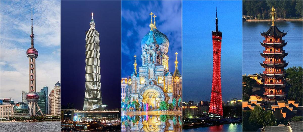 中国热搜旅游城市巡礼