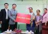 洪亮大使代表中国红十字会向缅甸红十字会捐赠援款