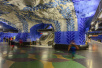 世界上最长的画廊,斯德哥尔摩地铁站