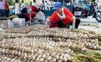 大蒜价格跌至十年最低 河南等省份大蒜滞销