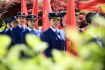 青岛举行党员志愿上岗仪式服务上合峰会