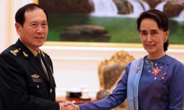 Suu Kyi vows to strengthen Belt and Road Initiative cooperation with China
