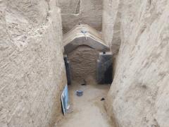 郑州常庄水库再现百余座古墓 还出现砖券墓