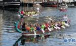 首届丹中龙舟节在哥本哈根举行