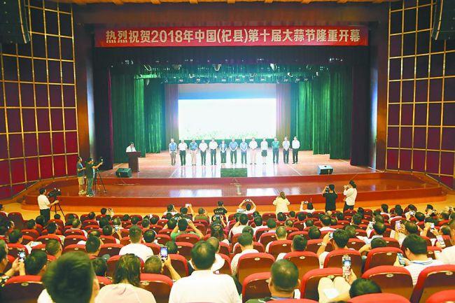 开封杞县:大蒜产业显活力 社会经济增动力