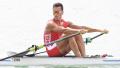 亚运赛艇男子单人双桨决赛 中国选手张亮夺冠