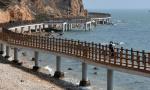 山东长岛打造海滨慢道